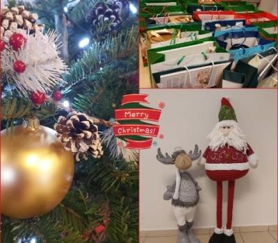 Św. Mikołaj u naszych klientów